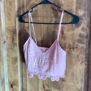 Free People One crop top